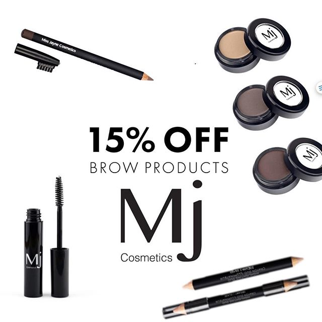 WOW your brows with 15% OFF our range of Mj brow products 💥 Be quick this offer ends 12th May 2019 Enter code: mjbrow15 at checkout. www.mjcosmetics.com.au or Shop at the Salon #mjbabe #brows #browproducts #crueltyfree #mua #shopnow #onlineshopping