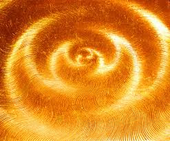 Sacral Chakra is associated with a deep orange colour