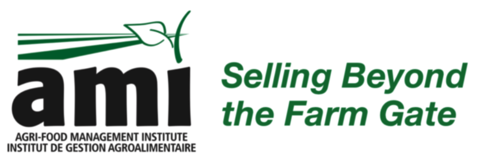 AMI Logo and Title Selling Beyond the Farm Gate. Links to site home page.