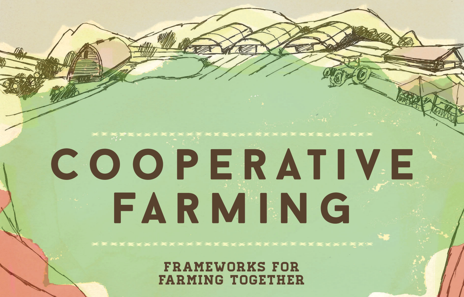 This Co-operative Farming guidebook from the Greenhorns in the U.S. has lots of great ideas for farming and marketing together. Click to view this PDF.