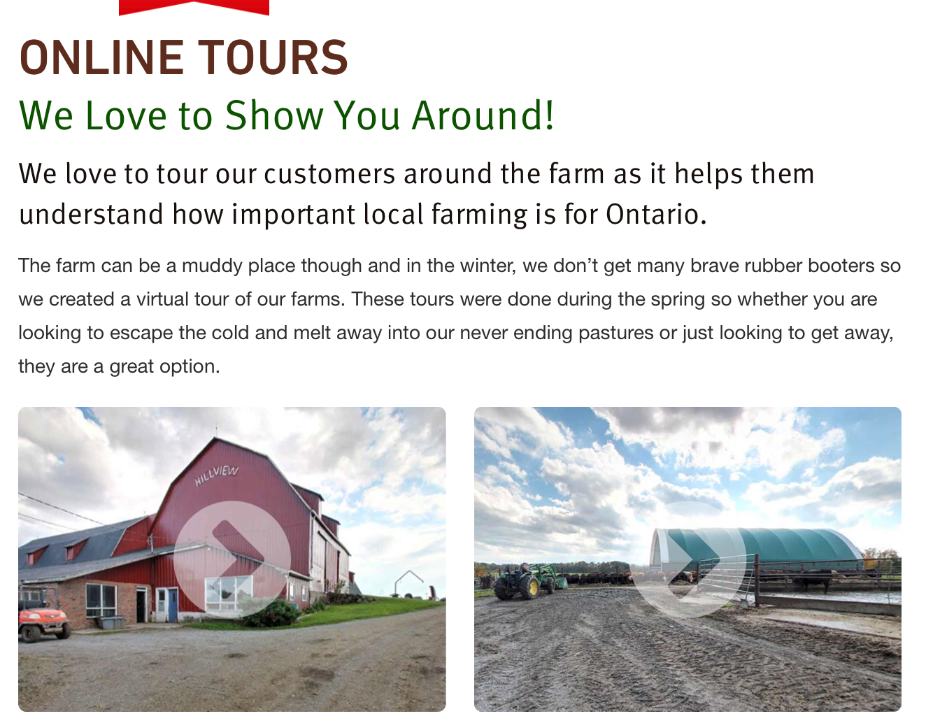 Take an  online tour  of the VG Meats facility.