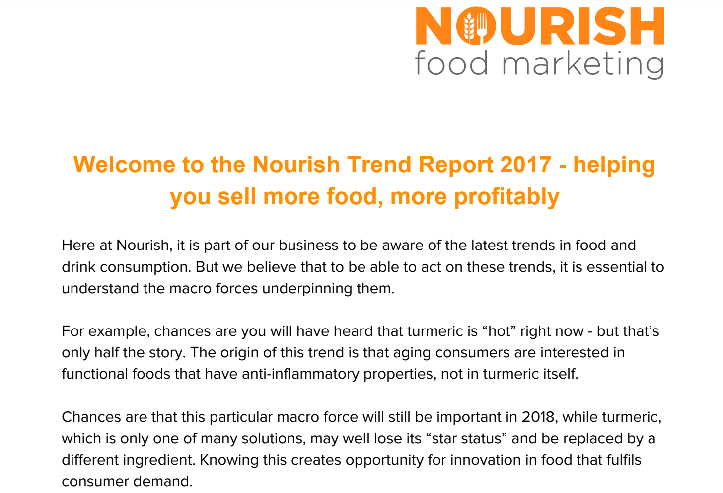 Nourish Trend Report 2017.  Click to view this PDF .