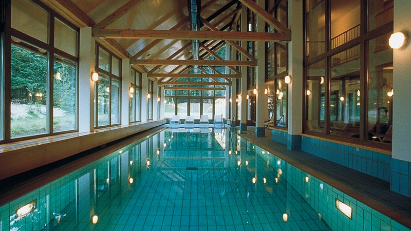 Indoor pool, Spa and Treatments