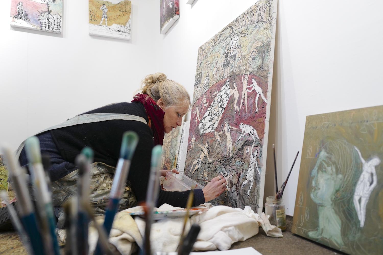 Delpha hudson the artist