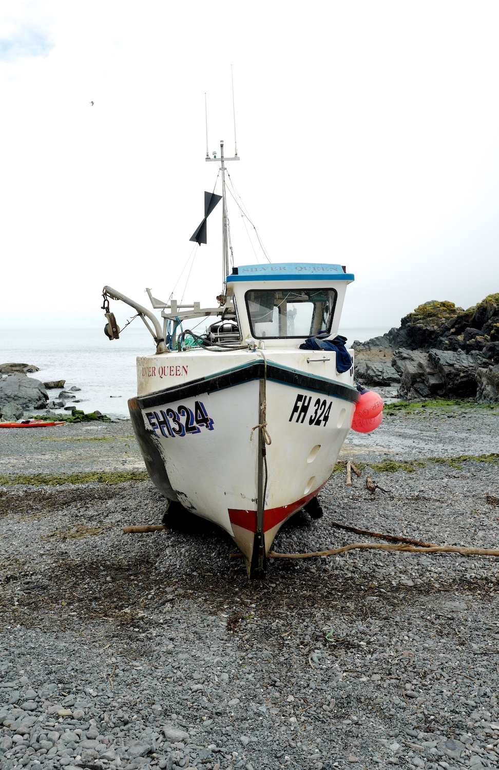 Cadgwith fishing boat