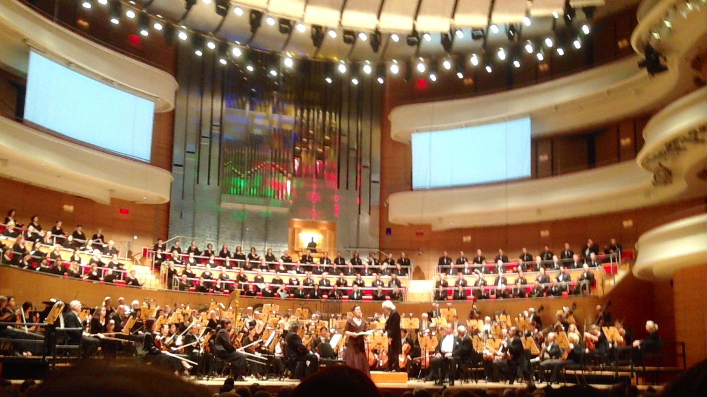 Mezzo soloist in the Duruflé  Requiem  with Pacific Symphony, Segerstrom Hall