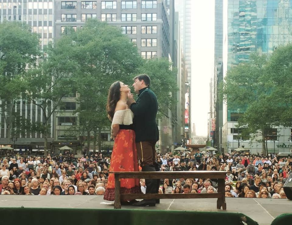 New York City Opera in the park