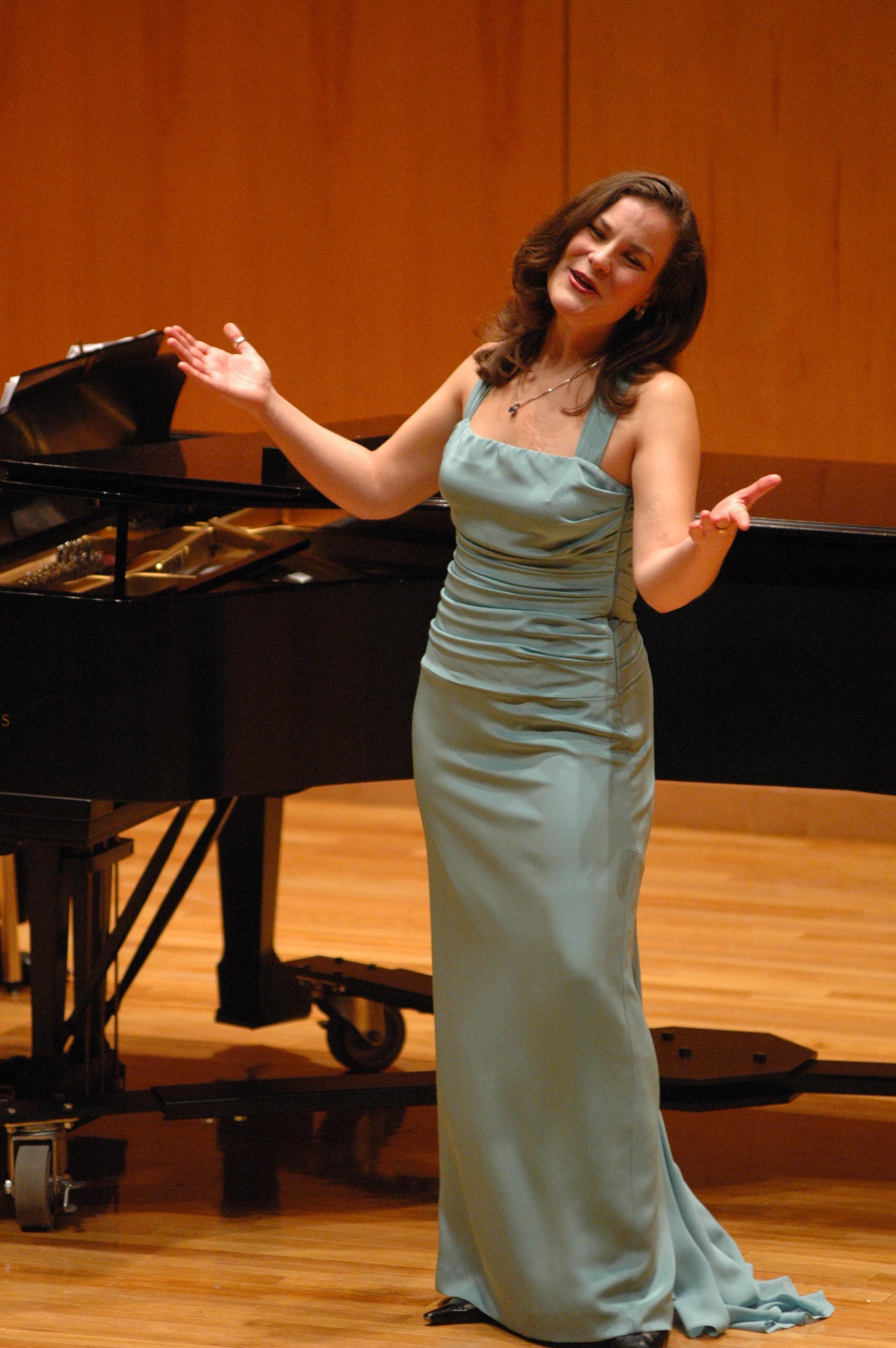 Recital at University of West Florida