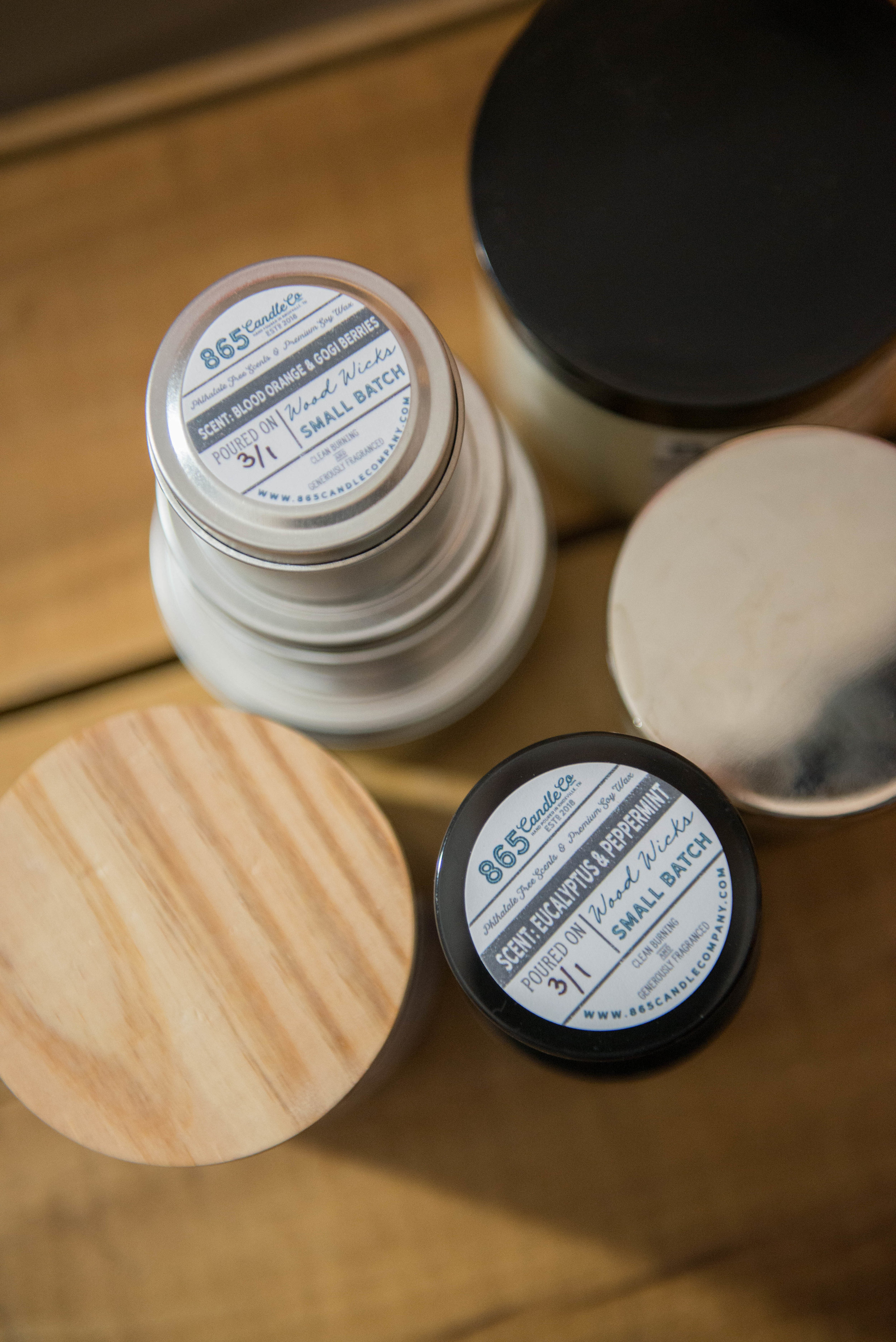 865 Candle Company Labels