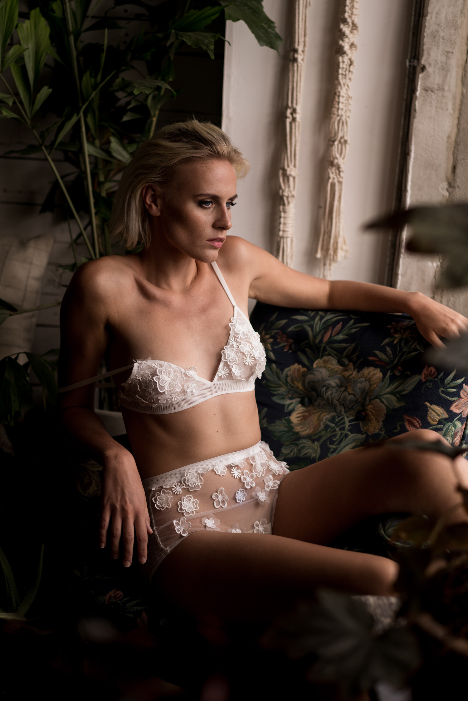 Shoot for Loulette Lingerie   Makeup and hair - Makeup By Joh  Photographer - Edelle Kenny  Model - Anne Windsland