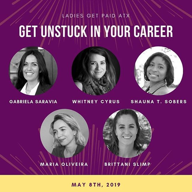 TONIGHT! Excited to be a part this @ladiesgetpaidatx 's panel from 7:30-8:30pm. Use code LGPATX to get $5 off your event ticket!