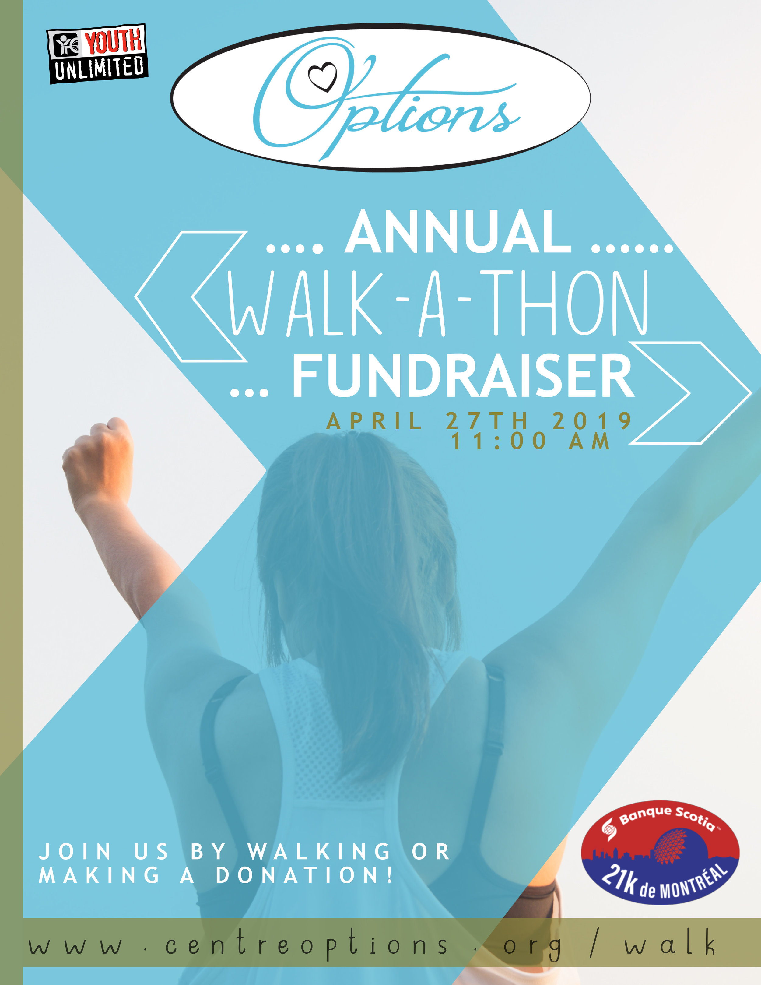 To REGISTER or DONATE visit:  https://www.centreoptions.org/walk