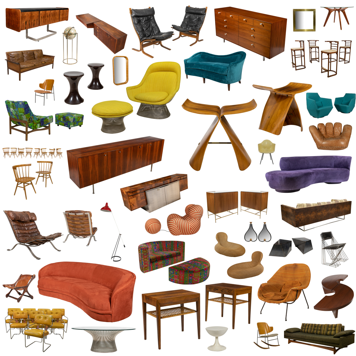 June Mid Century Modern Design -