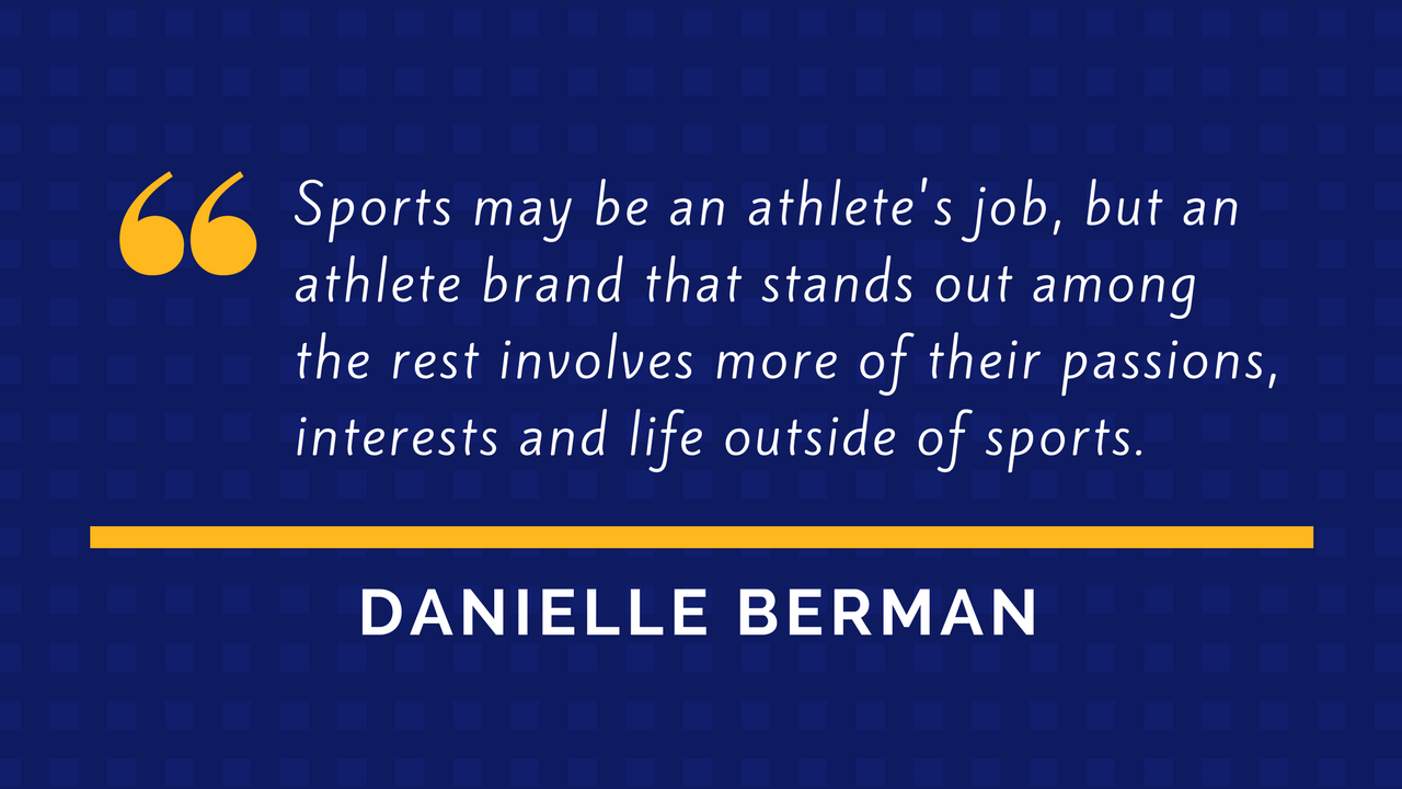 Danielle Berman Quote - Sports Philanthropy