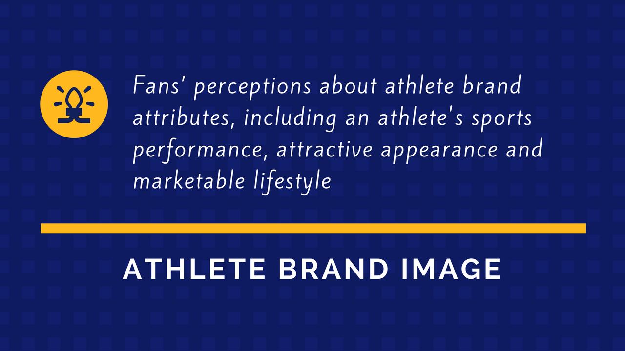 Professors Akiko Arai, Yong Jae Ko and Stephen Ross' definition of athlete brand image