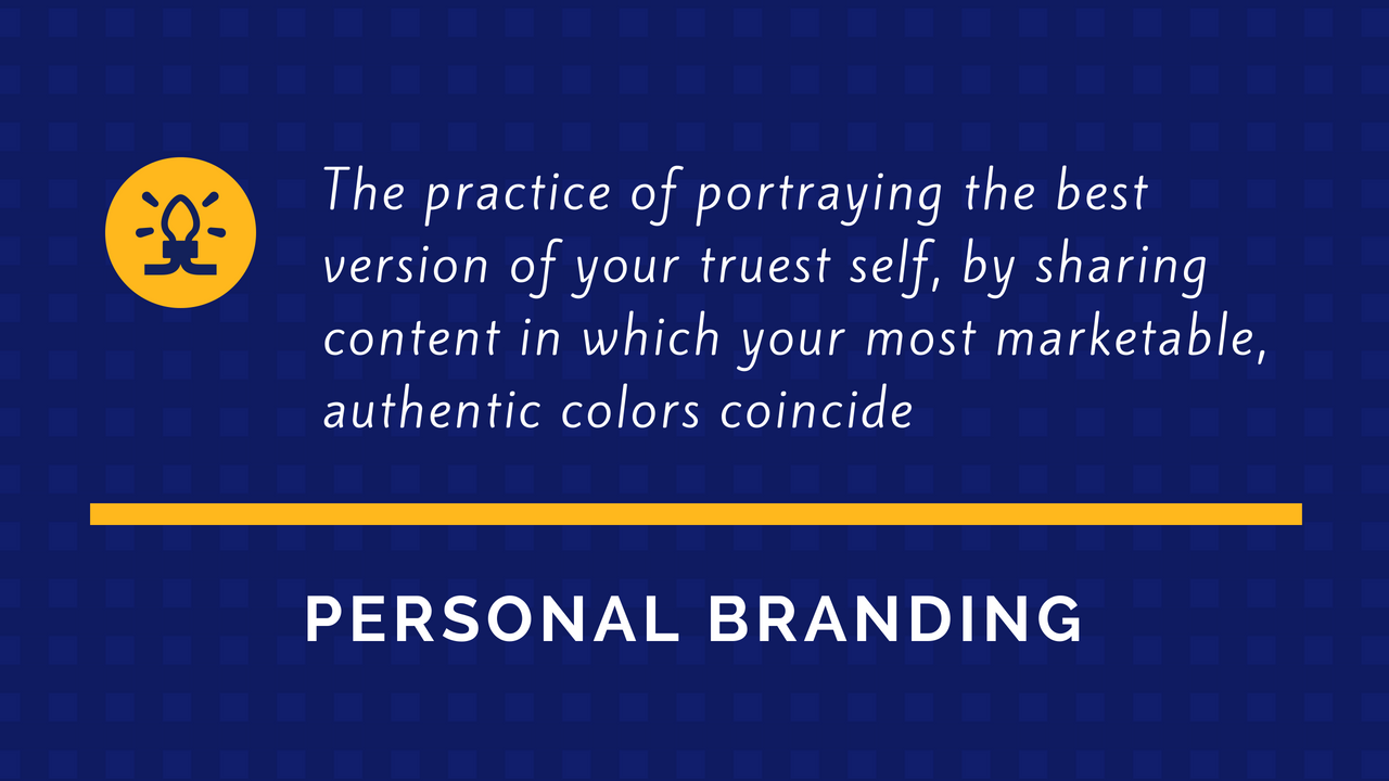 Definition of Personal Branding