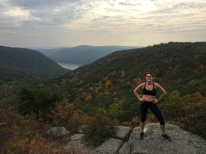 Breakneck Ridge Hike Fall 2017 complete with summit guided meditation