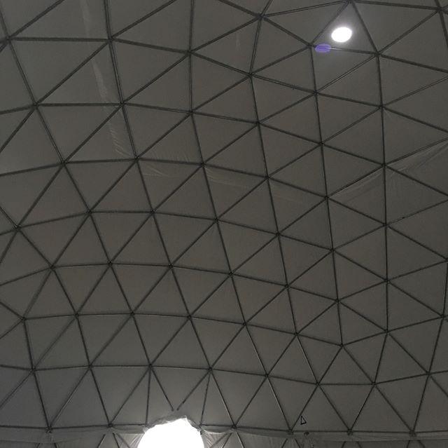 Taking down 70' diameter dome down tomorow.