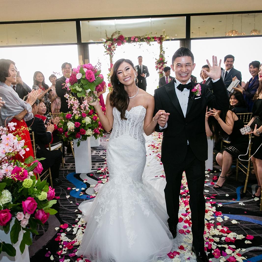 J + S Wedding - Ceremony  & Reception Location: Sheraton Universal, Universal City, CA | May 19, 2018