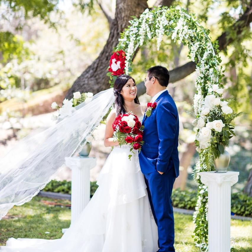 C + A Wedding - Ceremony Location: Kellogg West, Pomona, CA / Reception Location: Romanesque Room, Pasadena, CA | July 14, 2018