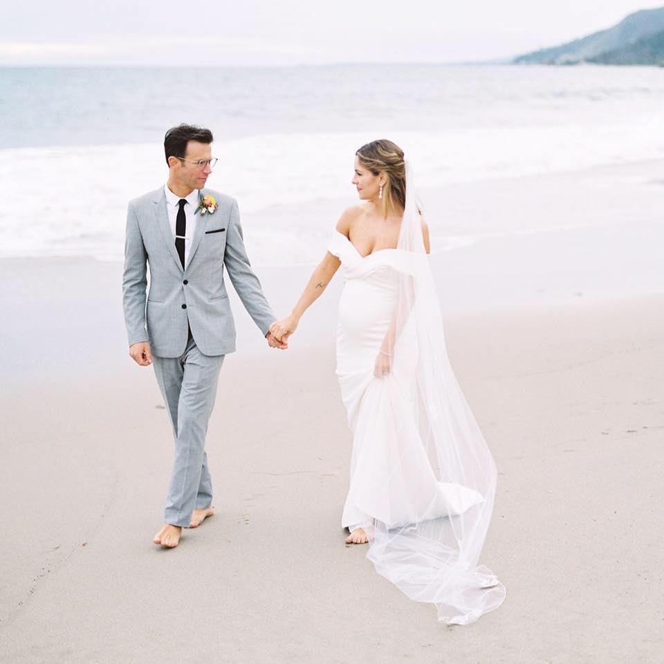 J + M Wedding - Ceremony Location: Beach Front, Pacific Palisades, CA / Reception Location: Gladstones Restaurant, Pacific Palisades, CA | March 1, 2019