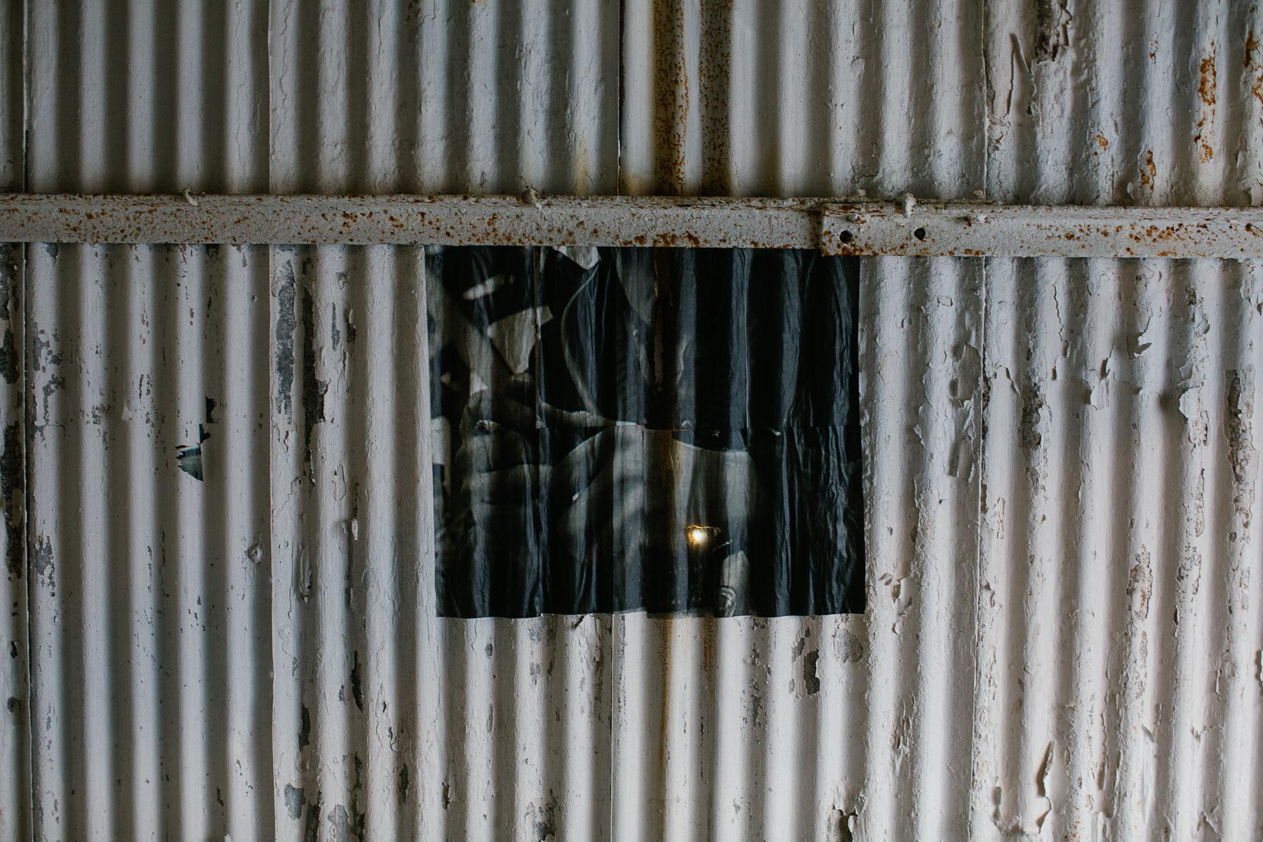 Old poster, Big Pit Coal Museum,Pontypool