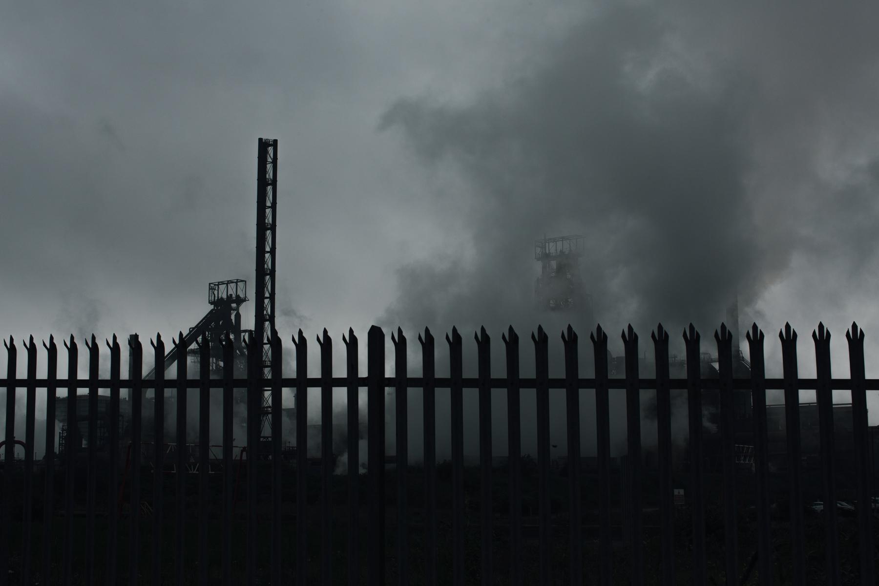 Port Talbot's TATA steel plant.