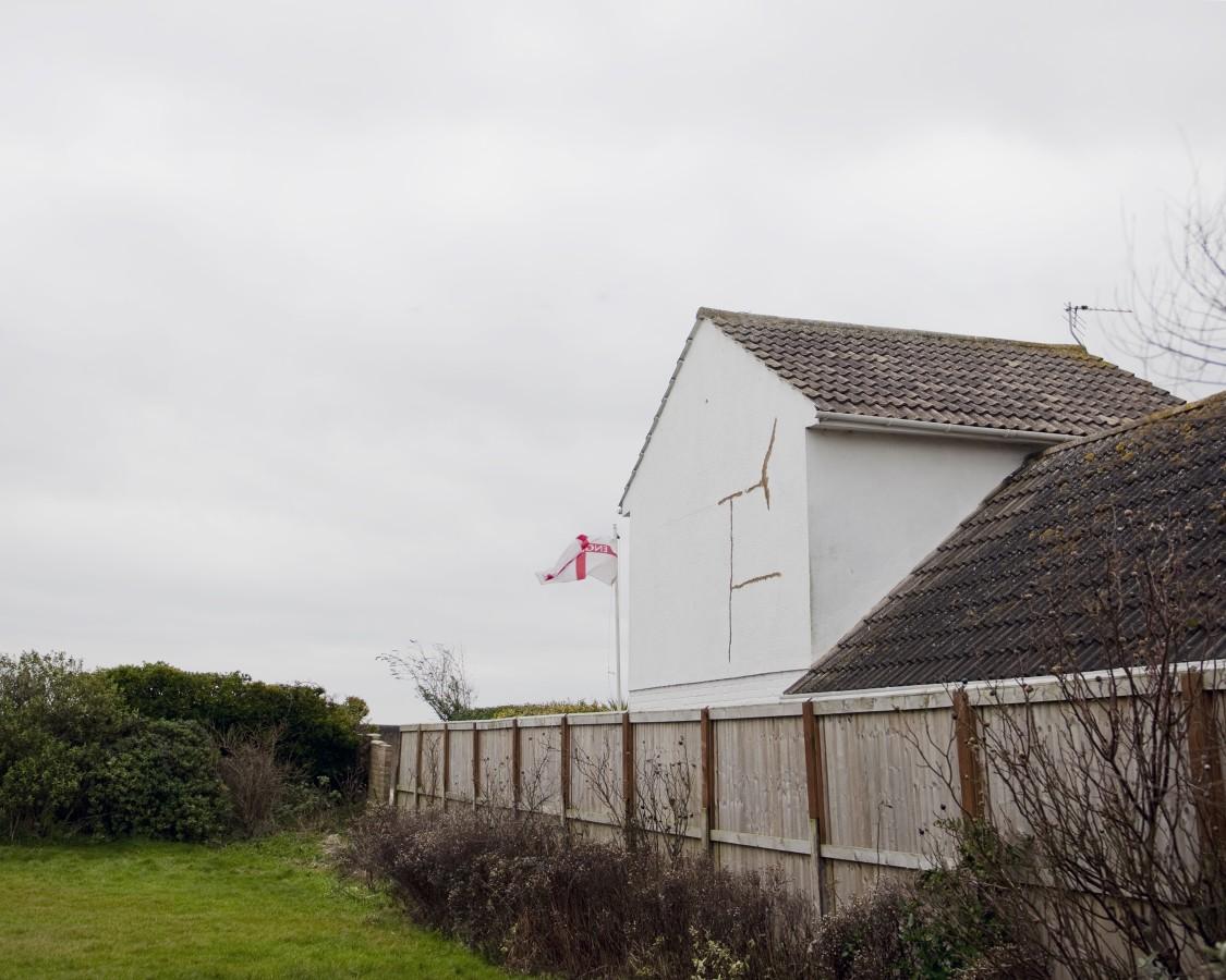 A Norfolk home creeps ever nearer to the edge.