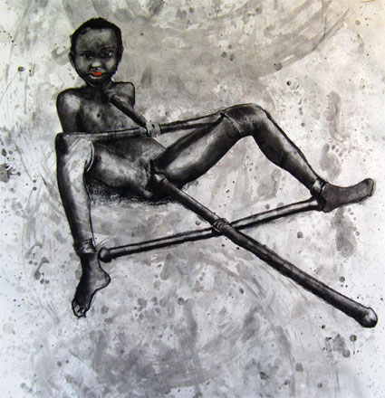 2010, 2.3 Legally Bound, Mixed media on paper, 150x150cm.jpg