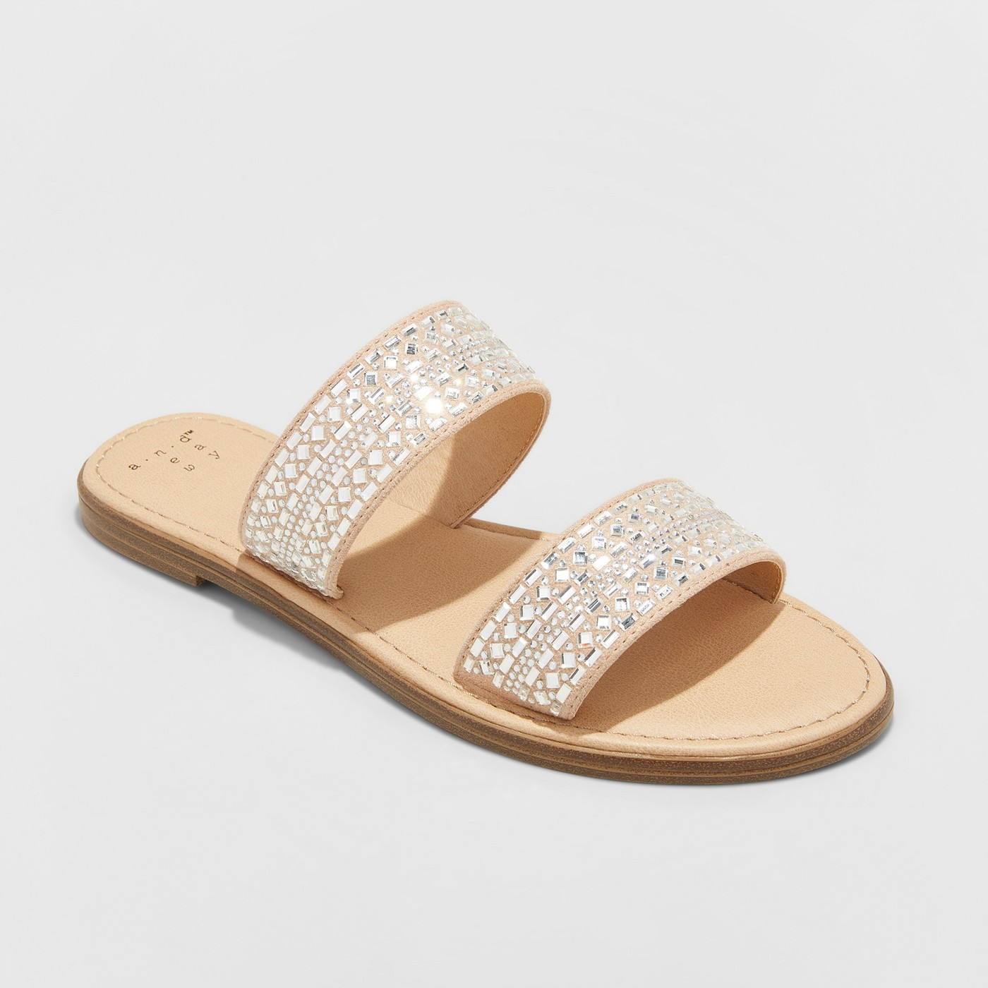 Women's Kersha Embellished Slide Sandal.jpg