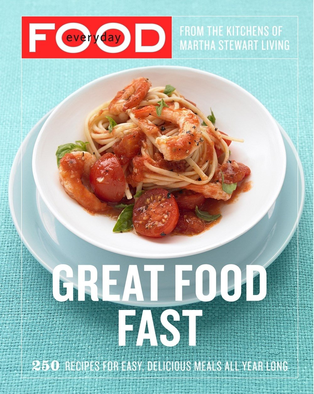 Great Food Fast - by Martha Stewart Living MagazineReal Simple is one of my favorite magazines, and they are the writers behind this book, so it's no surprise that the recipes included are delicious and easy.Almond Apricot Chicken with Mint Pesto is a great dish when you're looking for something different, and the Spinach Penne with Ricotta and Pine Nuts is so delicious and simple that it's almost absurd.Everyday Food: Light is another title from them that I can't wait to pick up!Grab your copy of Great Food Fast here.