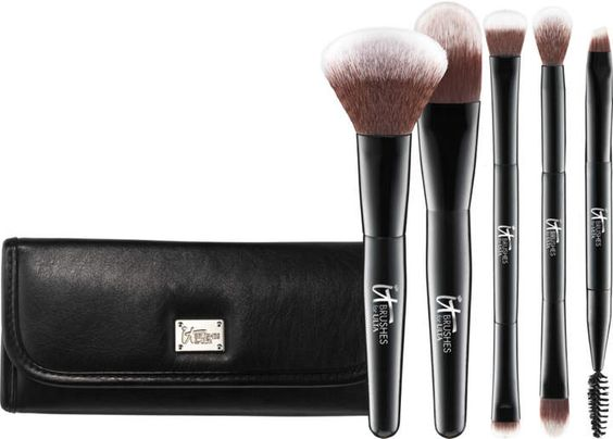Multi-Tasker Dual-Ended Travel Brush Set