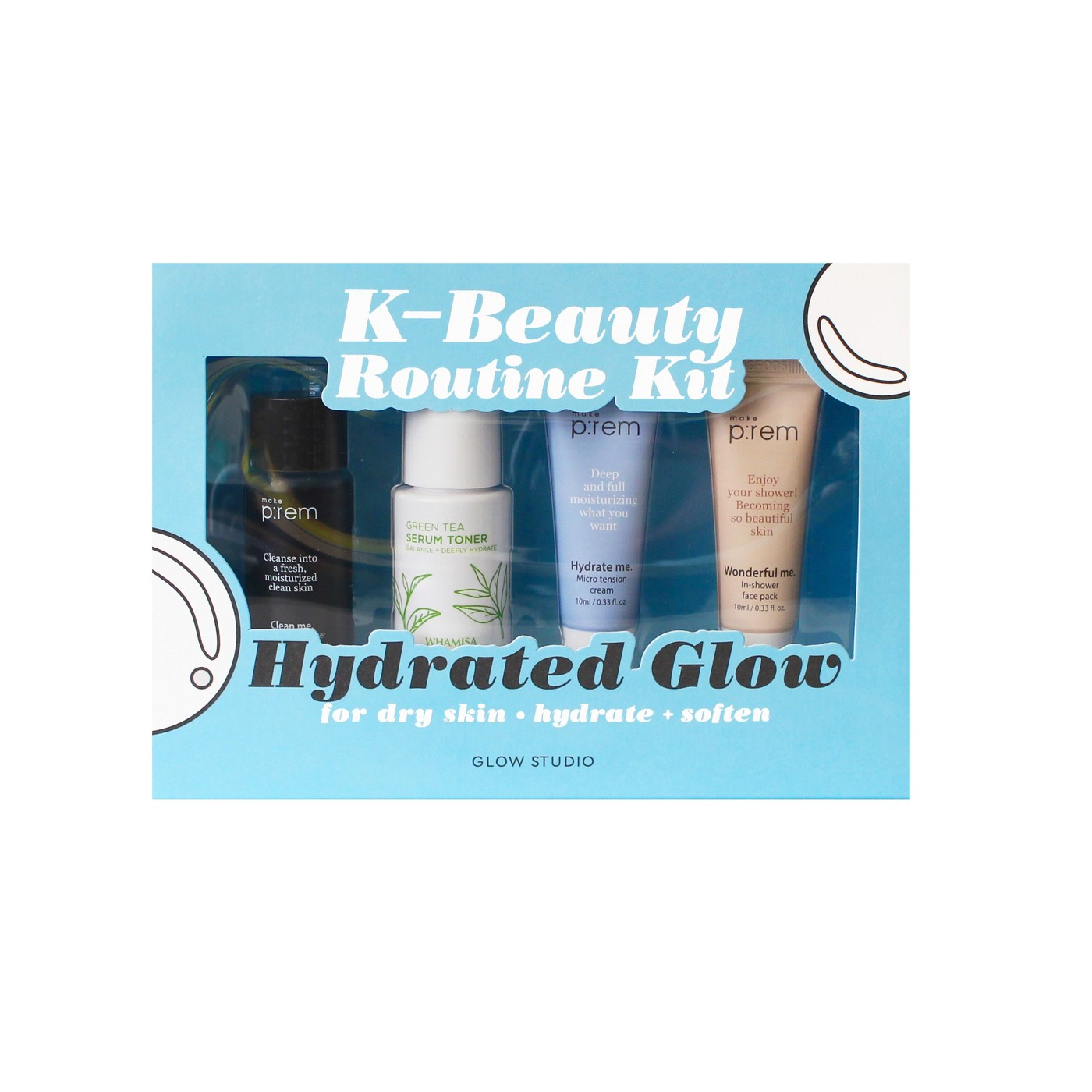 Hydrated Glow Routine Kit
