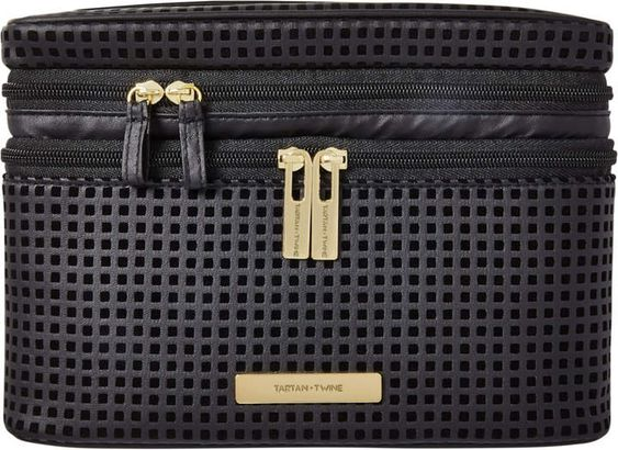 Caitlin Double-Zip Train Case