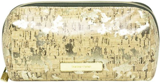Cork Travel Makeup Pencil Case