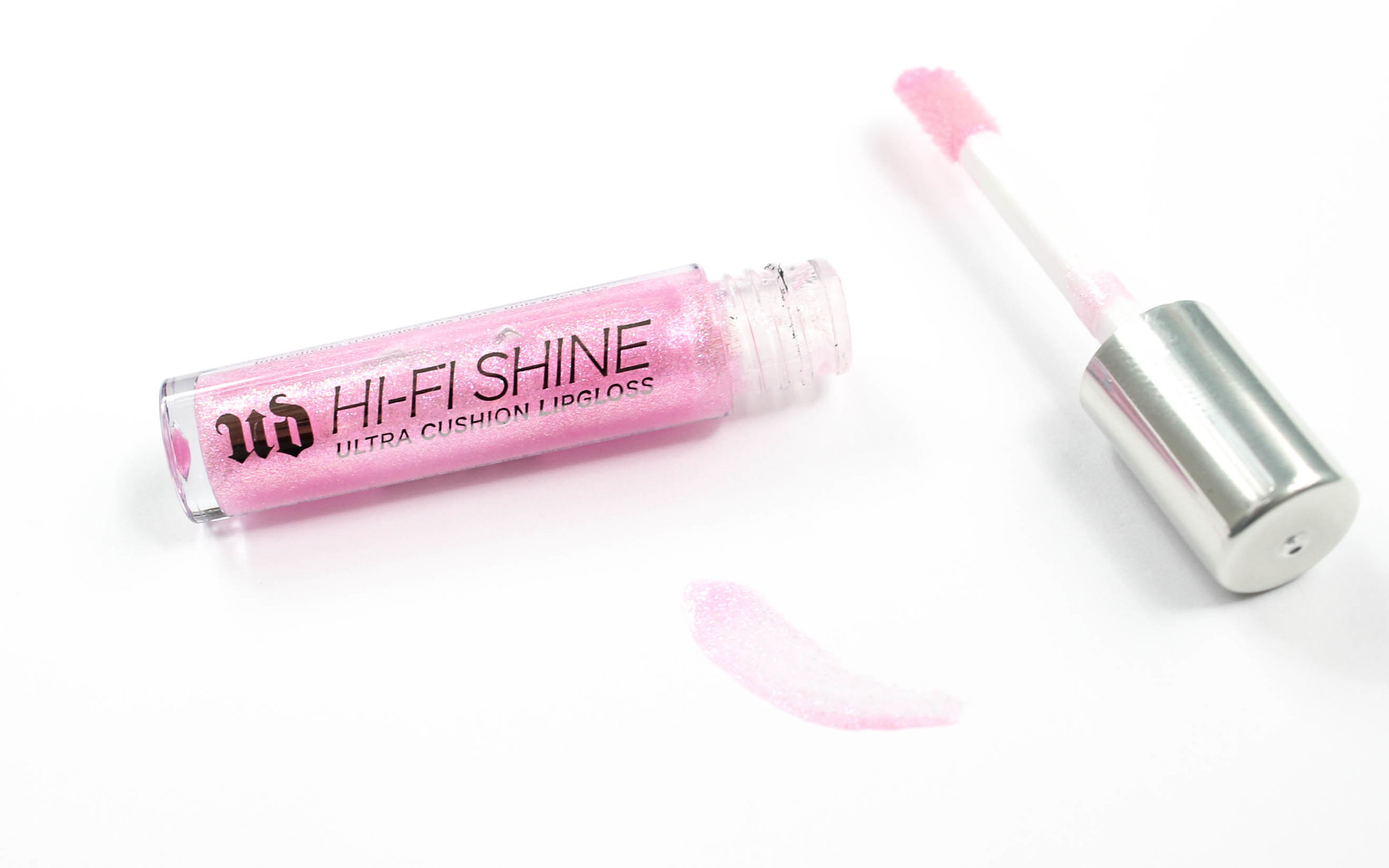 urban decay hi-fi shine ultra cushion holographic lipgloss