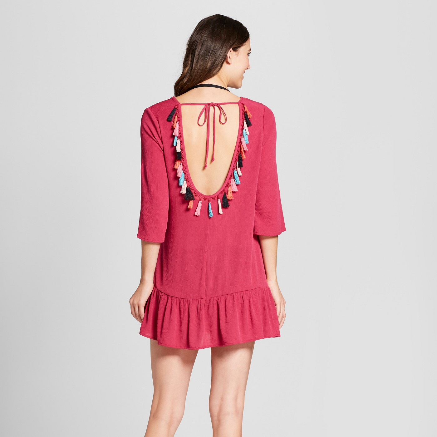 Tassel Cover Up Dress