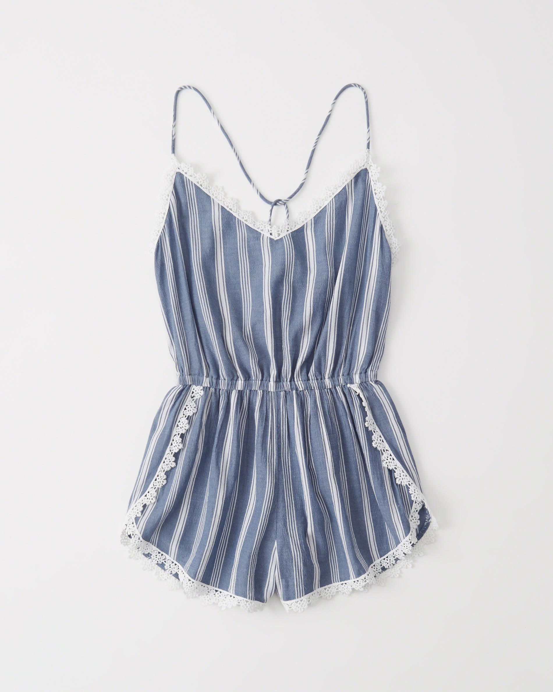 Striped Cover Up Romper