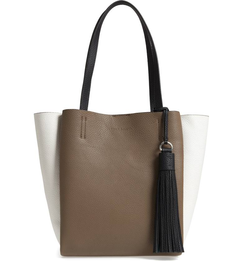 Nylan Leather Tote