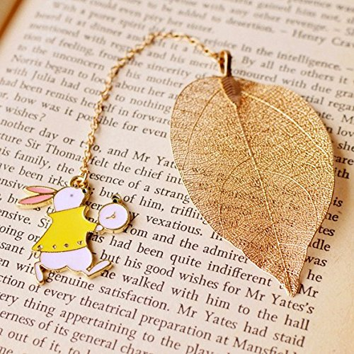 White Rabbit Bookmark