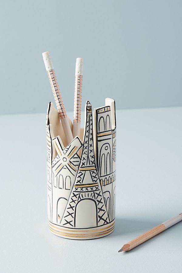 Cityscape Pencil Cup