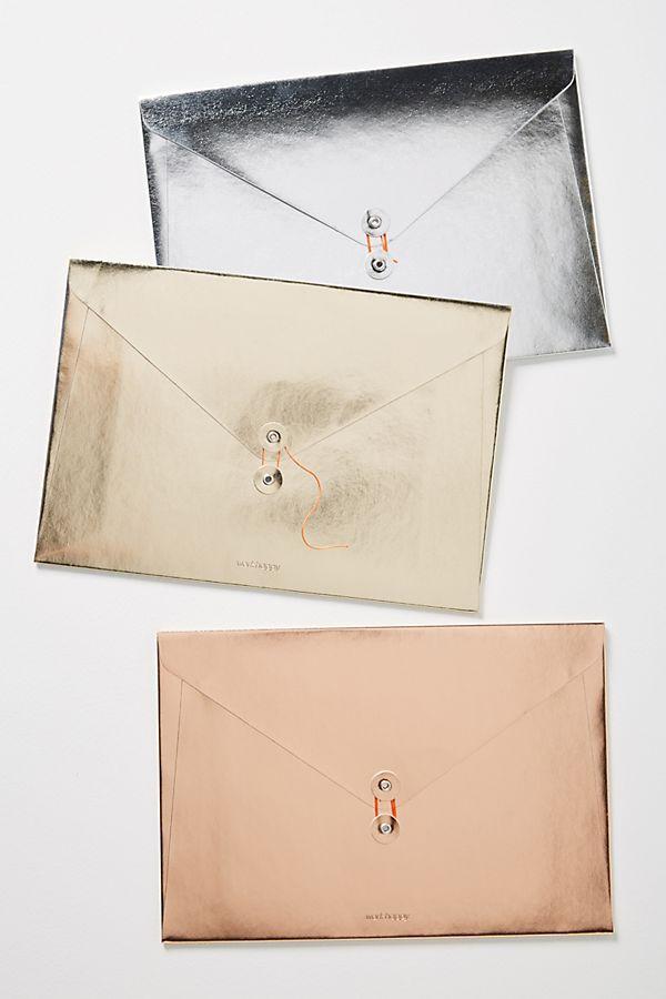 Metallic File Folders