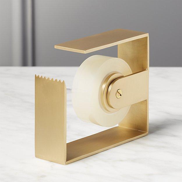 Brass Tape Dispenser