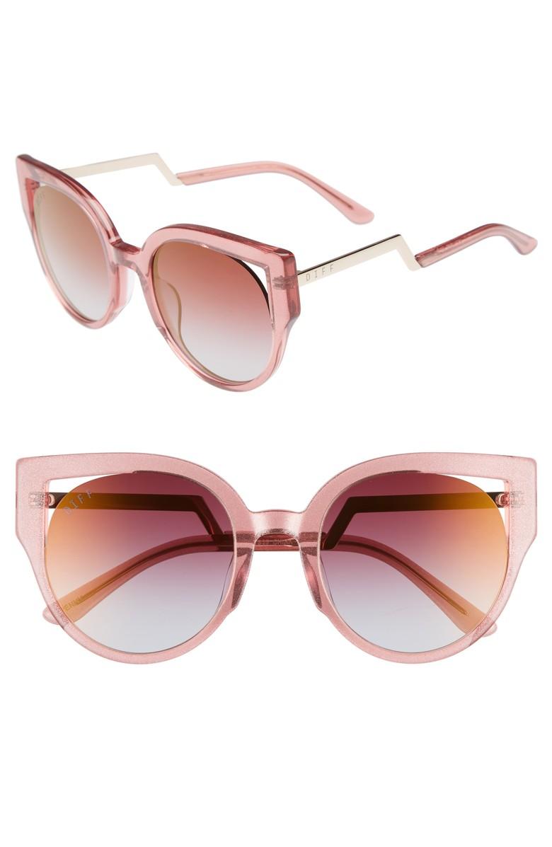 DIFF Penny Cat Eye Sunglasses