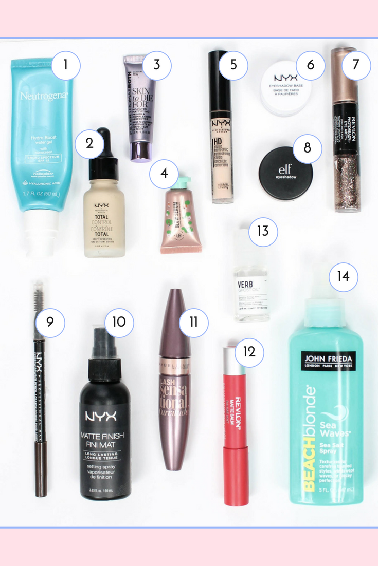 favorite summer makeup products