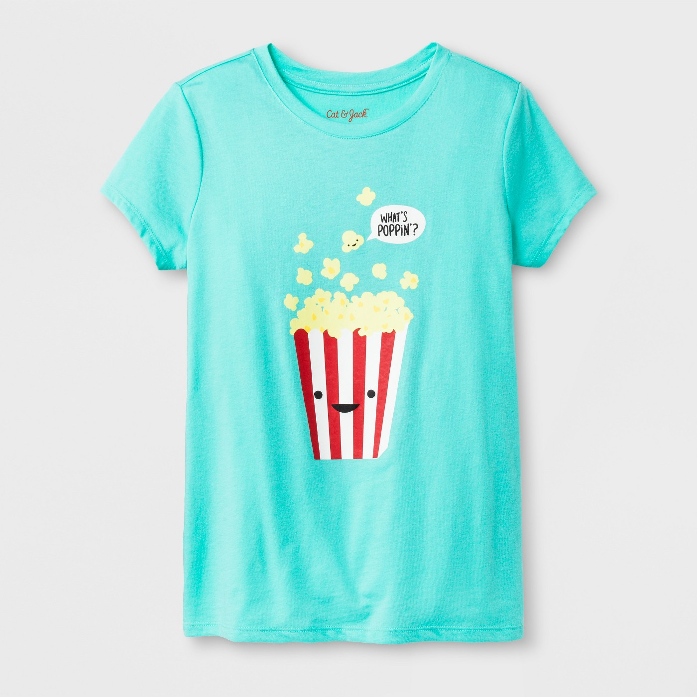 Girls' What's Poppin' Graphic Tee - $5