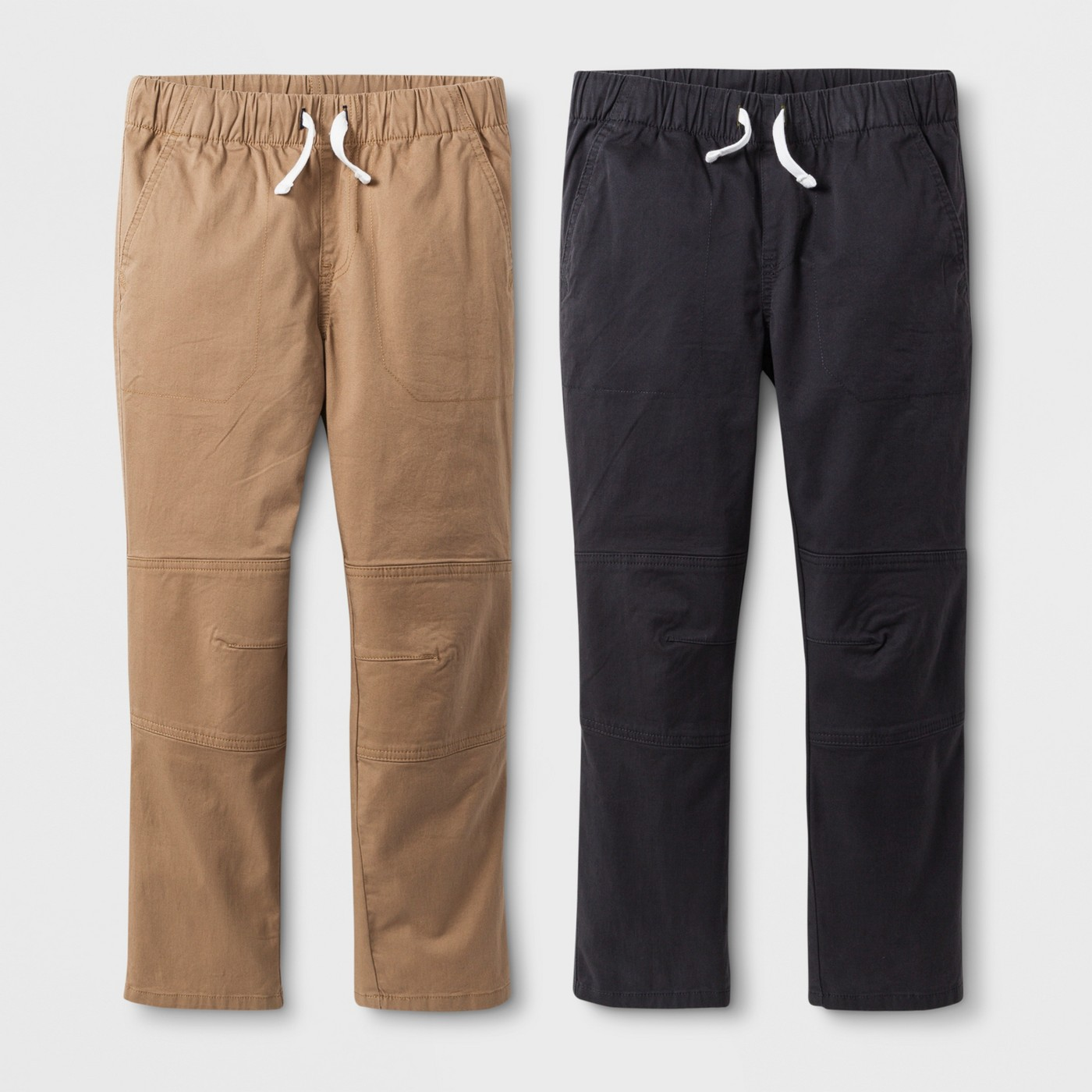 Boys' 2-Pack Pull-On Pants - $19