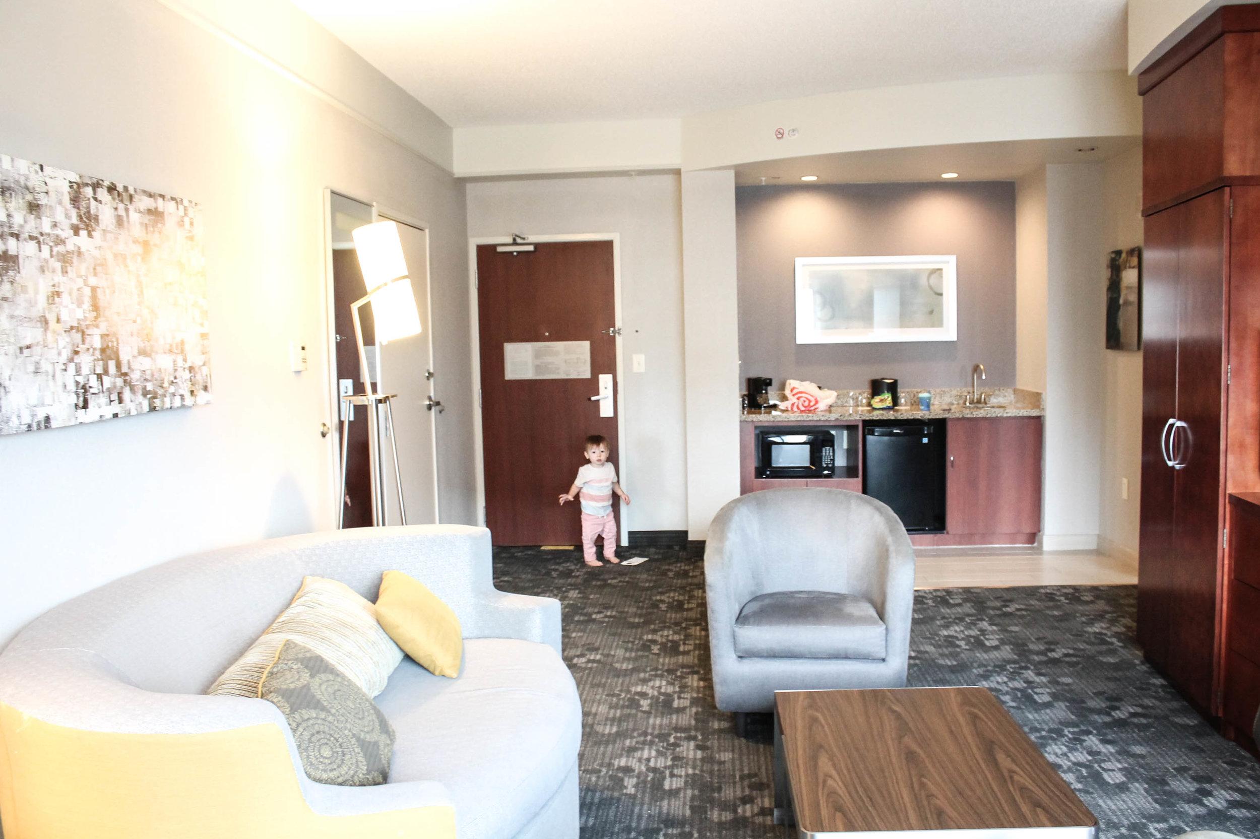 Houston hotel suite