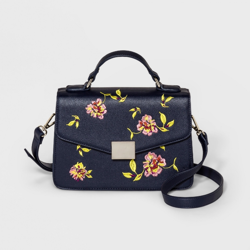 Target - Who What Wear Embroidery Crossbody Bag - $35