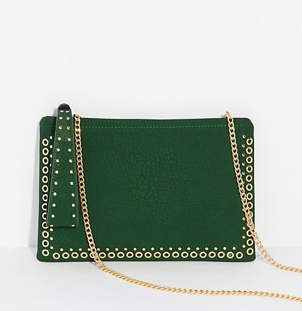 FreePeople - Moonlight Studded Clutch - $38